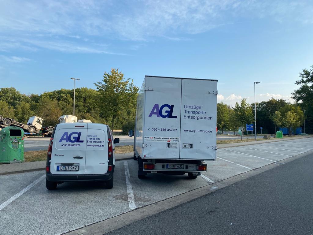 Startseite, AGL Umzug Berlin